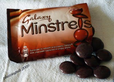 Galaxy Minstrels - Candy Coated Chocolate Buttons Review