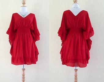 mooie jurken/mooi bloemen/Boheemse jurken/Plus Size door MadeDress