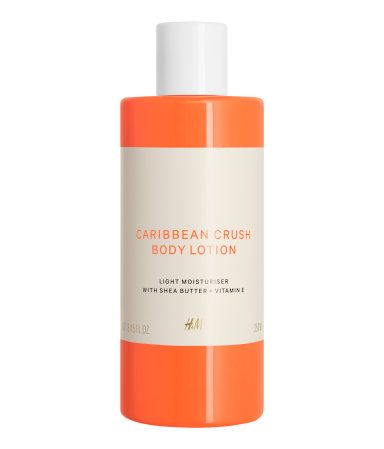 A lightweight body lotion that absorbs easily, leaving skin with a lush mango and coconut fragrance. Formulated with nourishing shea butter and vitamin E. 8.5 fl. oz. How to use: After your shower or bath, massage gently onto your skin until absorbed.