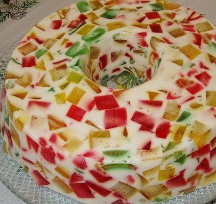 Gelatina com Leite Condensado - http://www.receitasja.com/gelatina-leite-condensado/