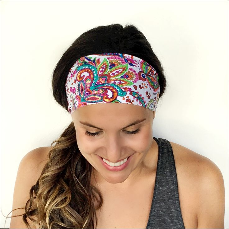 Non slip, sweat wicking headbands!