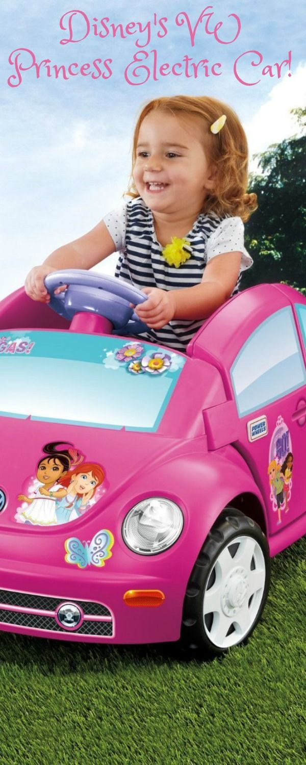 Disney Vw Princess Electric Car This Is Such A Cute Little Ride On For Any Over The Age Of 3 Toys