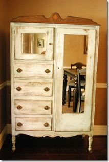 Great Tips For Reviving Old Furnature And I Love The Wardrobe