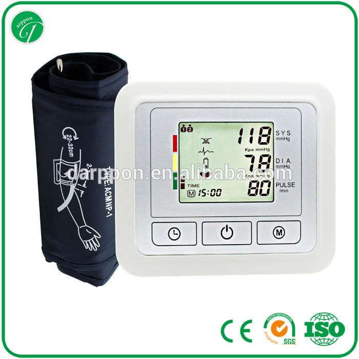 """Hot Sales Digital ARM/WRIST Blood Pressure Monitor CE , ESH , BHS , FDA"""