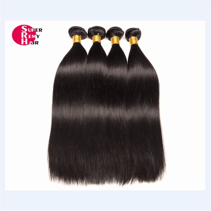 Hair weft 8A grade 100% human hair extensions 12-30 inch nature color