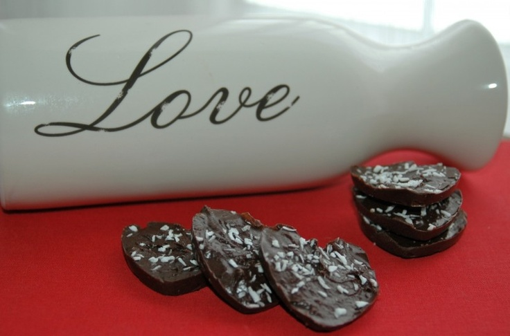 Two-Bite Dairy-Free Cocoa Coconut Treats | Bitesforbabies.com | Pinte ...