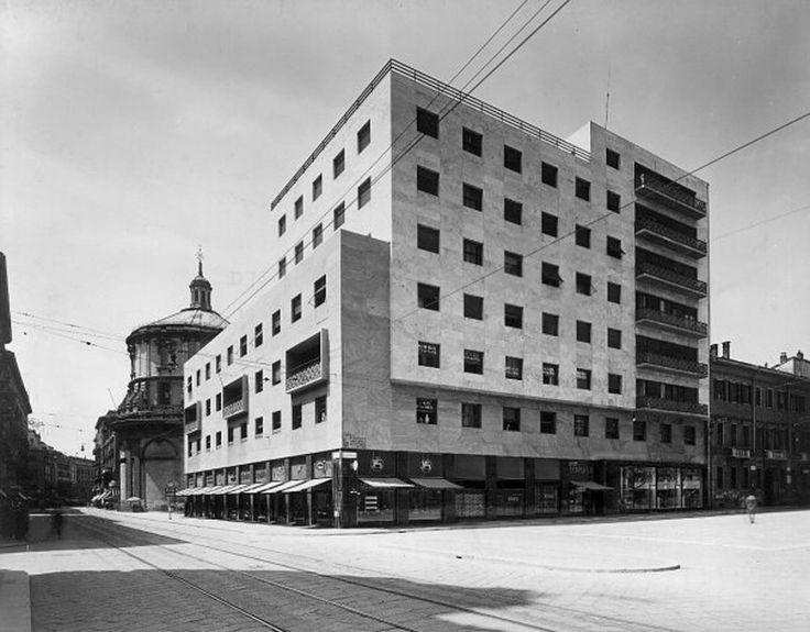 Edificio ras piero portaluppi milano storia for Piero portaluppi