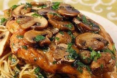 Olive Garden Chicken Marsala Recipe ~ best food in the world