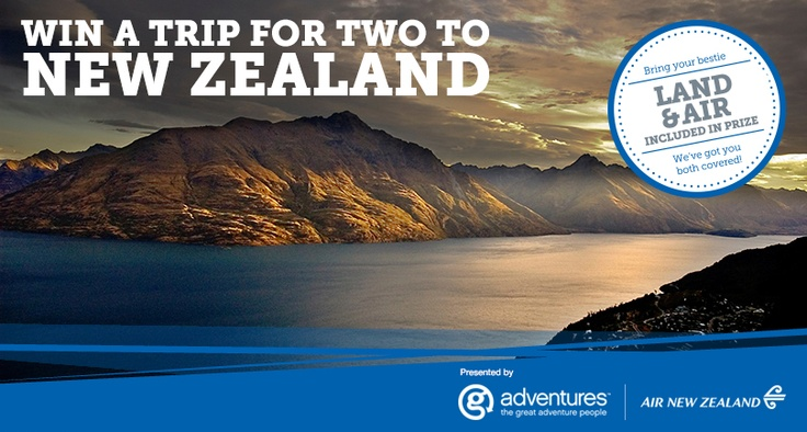 MichaelW Travels...: Win A Trip to New Zealand from G Adventures