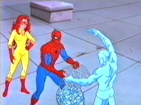 Spiderman, Iceman and Firestar | characters | Pinterest