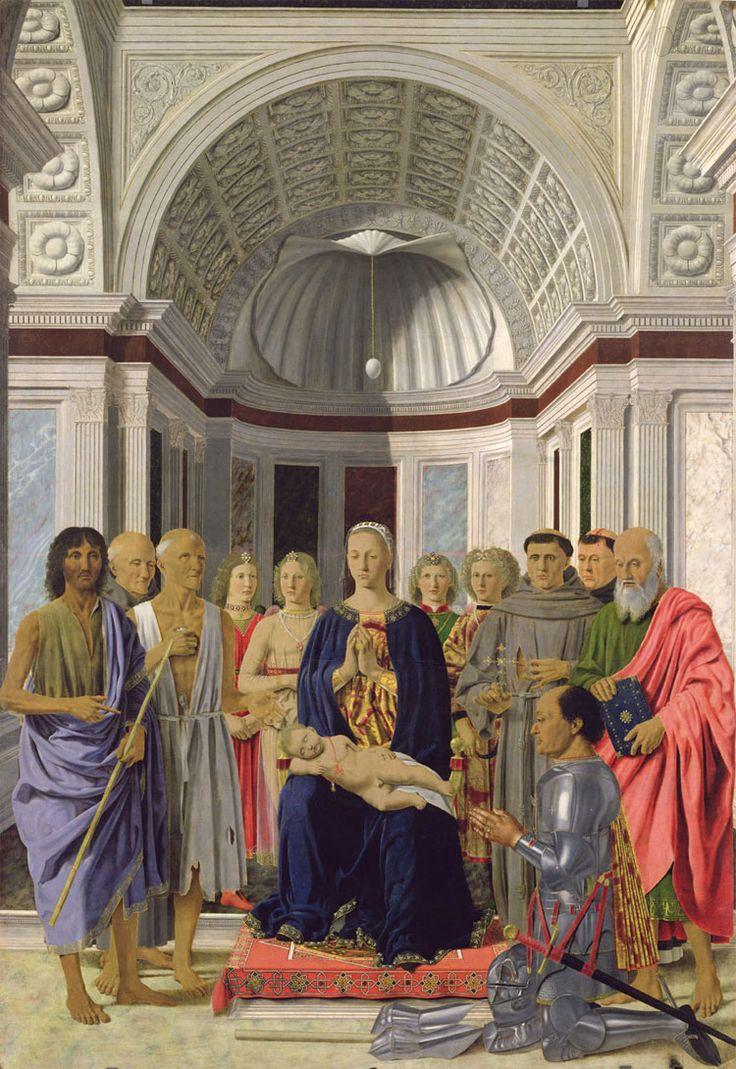 Piero della Francesca: Pala d'altare di Brera