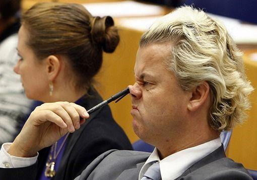 27 fotografías virales de políticos -Geert-Wilders-004