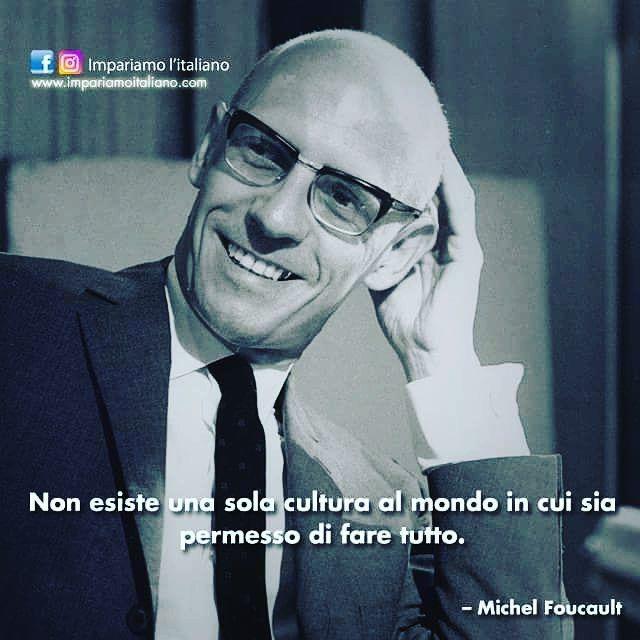 Come tradurreste questo pensiero di #MichelFoucault un'altra lingua?  #learnitalian with  http://ift.tt/1kp6DXf  #Zitate #aforismi #aforism #frasi #citation #citazioni #citationdujour #citations #quotes #beautiful #instagood  #instadaily #photooftheday