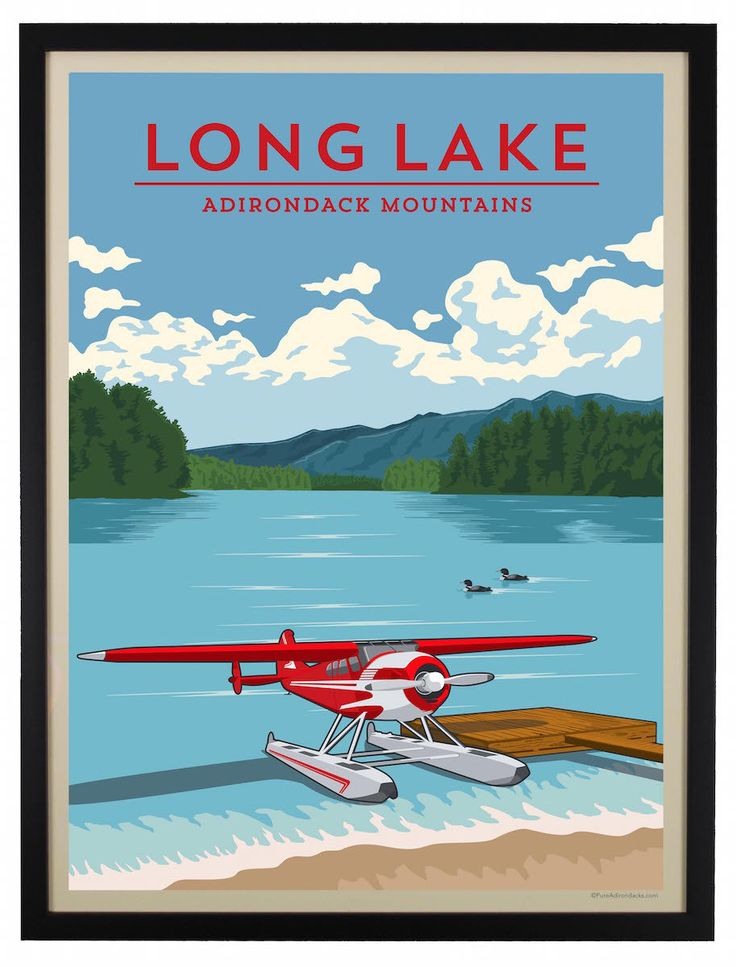 Adirondack summers in Long Lake mean spending endless hours on the lake and, of course, seaplanes! It's commonplace to see the seaplanes docked up along the shore or flying around the area to give vis
