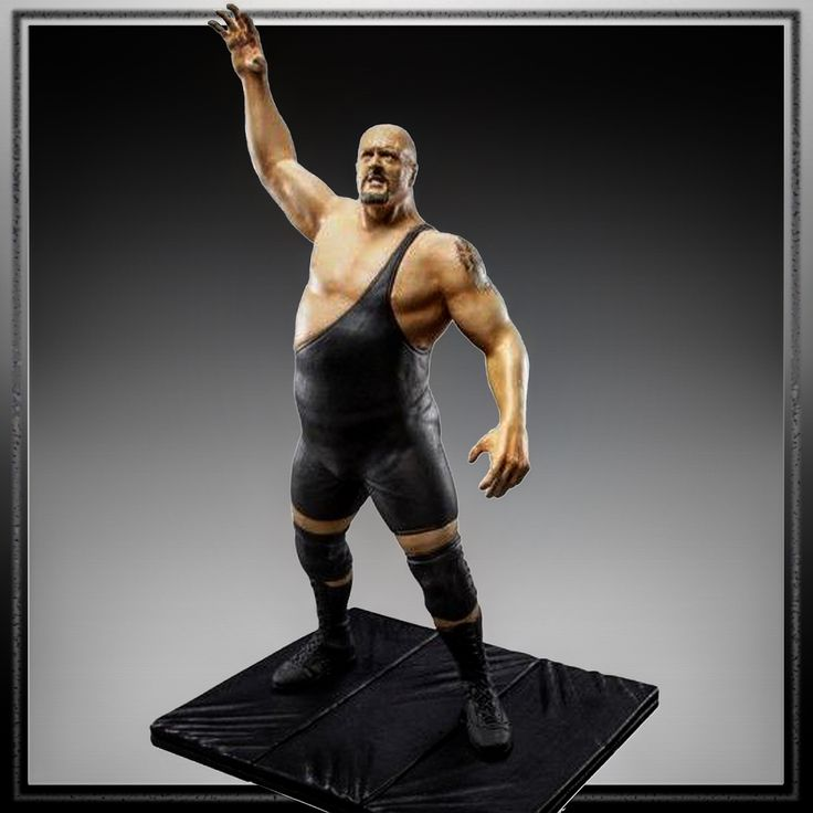 Painted version of the pro wrestler Big Show figure I sculpted for WWE and Jakks Pacific. He is part of a figure line called Unmatched Fury, of which I sculpted many. About 7 inches tall. I also sculpted the mat he is standing on. #paint #painted #wrestling #batista #bret #hart #brethart #finlay #hornswaggle #mvp #undertaker #jbl #razorramon #johncena #chrismasters #mrperfect #kane #bigshow #bobbylashley #tripleh #actionfigure #figure #toy #statue #waxsculpture #sculpture #jakkspacific…