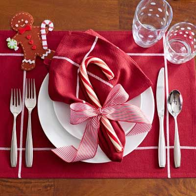 Holiday Place Setting: Casual – The Pampered Chef® This is so cute!