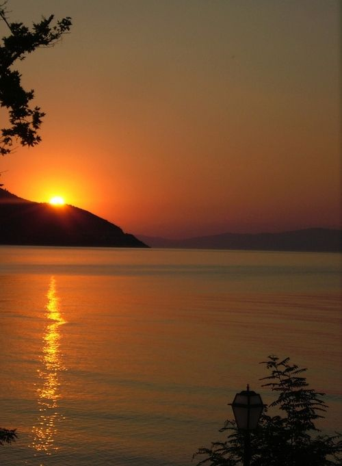 Sunset in Thassos