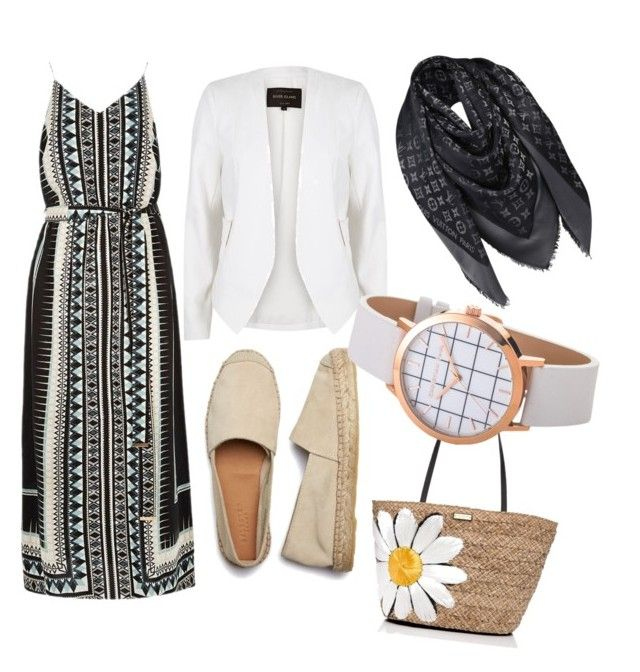 """""""hijab"""" by azmina2010 on Polyvore featuring River Island, Kate Spade and Louis Vuitton"""
