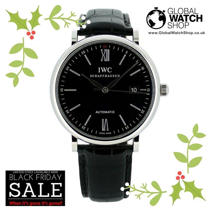 Unworn IWC Portofino #BlackFridayDeals price £2,350  Get it before it goes!!