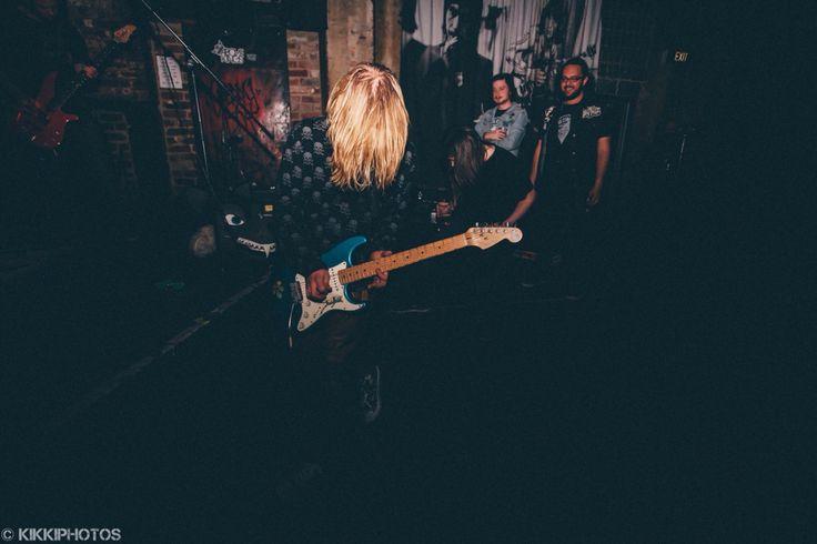 Three Quarter Beast live at Cherry Bar. #live #music #melbourne #cherry #bar #guitar #guitarist #threequarterbeast #wolf #head