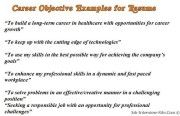 Resume Objective Examples – 15 Top Resume Objectives Examples