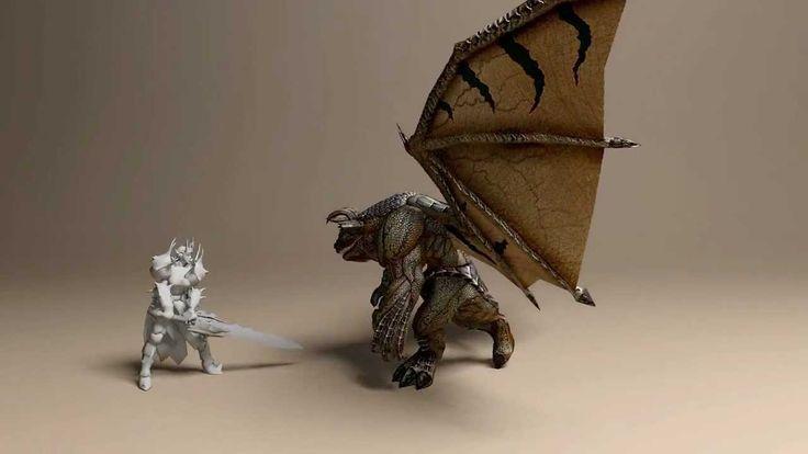 Dragon Game Animation