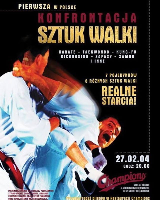 From 300 tickets to almost 60 000 attendance From The Champions Restaurant  to the PGE Stadium  From Warsaw  to all of Europe  From Local stars  to the best fighters in the world   #OnThisDay Today is 14 years since the first KSW event!  @ksw_mma . . . . . #mma #ufc #boxing #bjj #fitness #muaythai #kickboxing #fight #jiujitsu #gym #motivation #wrestling #martialarts #training #sport #workout #crossfit #mixedmartialarts #judo #fit #fighter #taekwondo #grappling #karate #москва #champion #oss…