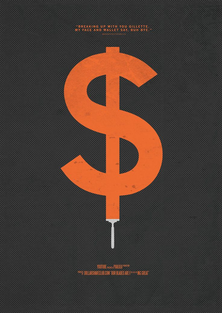 Viral Video Movie Posters - Dollar Shave Club by RetinaBurnBlog on  DeviantArt