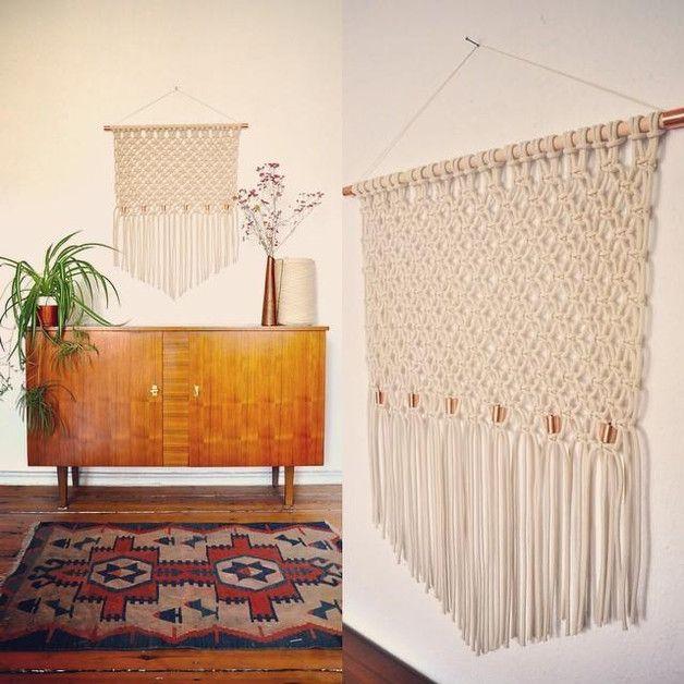 ber ideen zu makramee wandschmuck auf pinterest. Black Bedroom Furniture Sets. Home Design Ideas