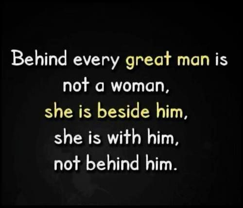 Beside him//