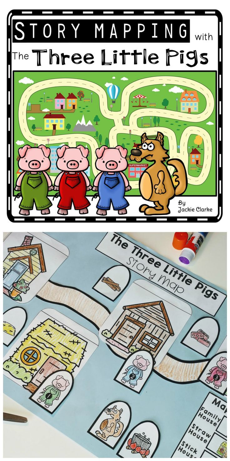 Fairy Tale Story Maps The Three Little Pigs Fairy Tales Story Map Three Little Pigs Story Map [ 1472 x 736 Pixel ]