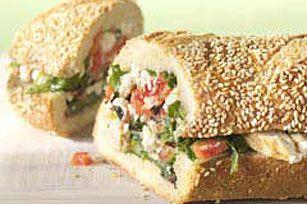 Garden Salad Sub Recipe - Kraft Recipes