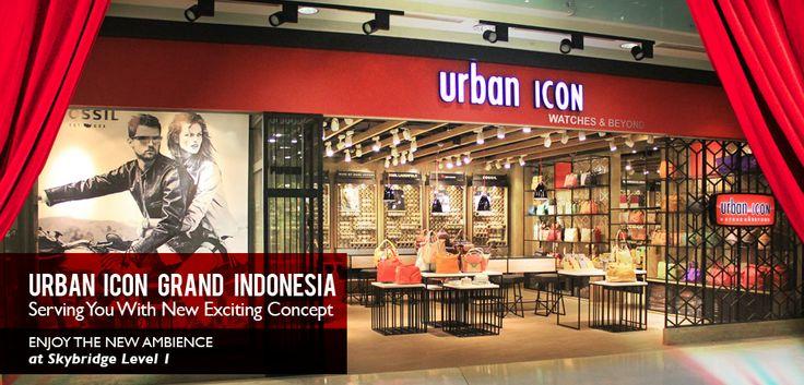 Grand Indonesia new store concept