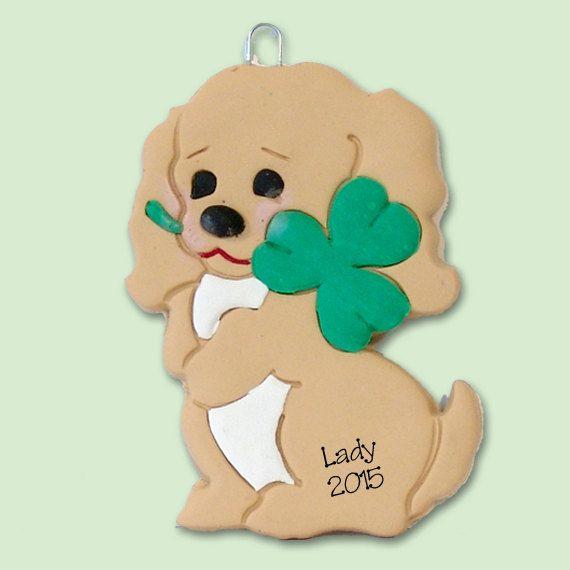 Puppy Dog Polymer Clay Pendant