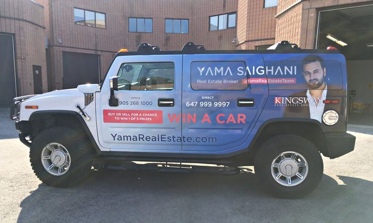 Gorgeous full wrap by Speedpro Imaging Burloak for their client Yama Saighani!