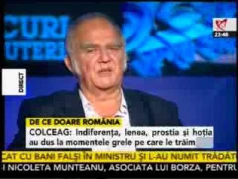 """Florin Colceag vorbeste la Realitatea despre Rosia Montana si gazele de sist -""""Romanii sunt inteligenti individual, dar nu sunt inteligenti in grup!"""" """"Inteligenta de grup se naste prin colaborare""""! """"Ca sa putem colabora, noi trebuie sa vedem calitatile celorlalti, nu defectele lor."""""""