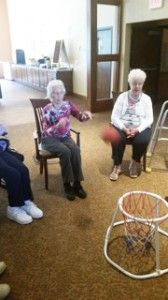 This basketball game is a great way to exercise!                                                                                                                                                     More