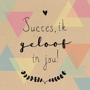 Ik geloof in jou! #Hallmark #HallmarkNL #becauseyoucan #geloof #succes