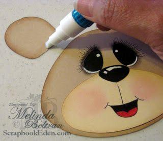 ** Mi papel Crafting.com **: Caras Tutorial
