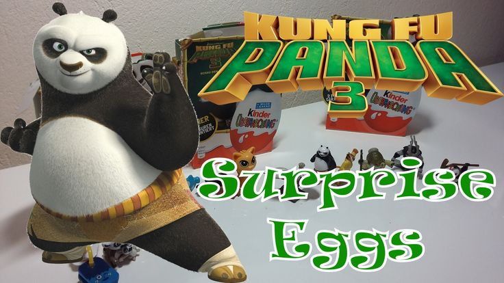 Surprise Eggs - Kung Fu Panda 3!!!!