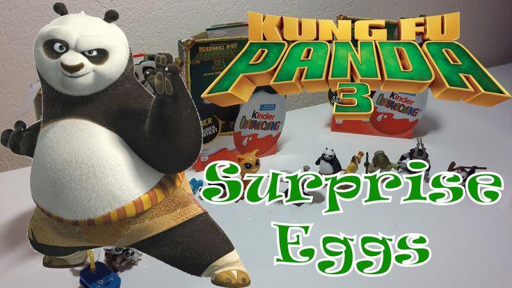 Surprise Eggs - Kung Fu Panda 3!!!!