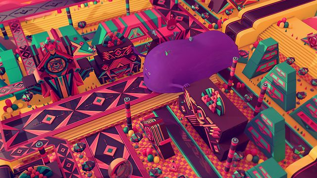 Psychic Land by 2veinte. Once upon a time in Psychic Land...