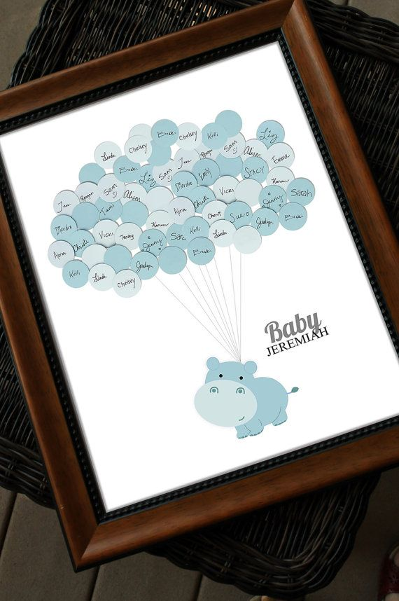 25 Great Ideas About Baby Shower Guestbook On Pinterest