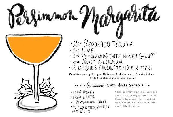 Persimmon Margarita Recipe | Margarita Recipes, Margaritas and Happy ...