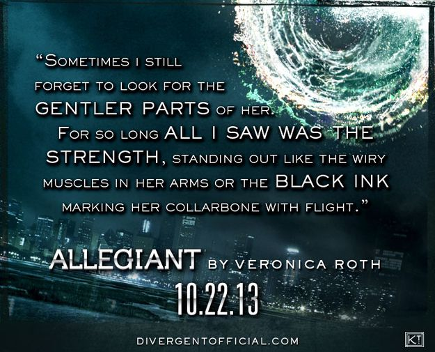 "The First Tobias Quote From Divergent's Third Installment ""Allegiant"" Has Been Revealed"