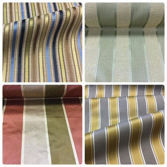 Red Olive Green Beige Sage Gold Gray White Navy Stripe Blue Sateen Upholstery Drapery Fabric Made In Italy Eb Grey And Beige Red Olive Drapery Fabric