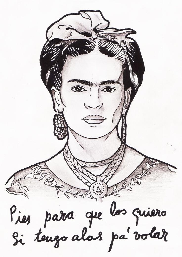 Frida Kahlo - Pies para que los quiero, si tengo alas para volar