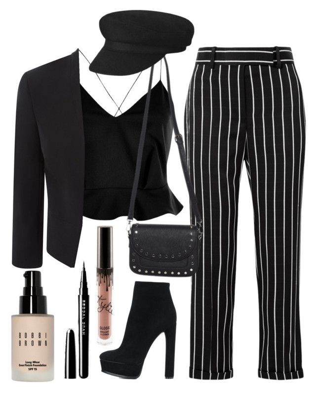 """""""Love"""" by helealb on Polyvore featuring River Island, Haider Ackermann, Casadei and Bobbi Brown Cosmetics"""