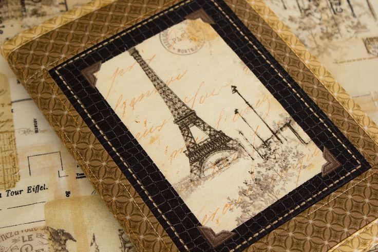Obal na knihu nebo diář I DREAM OF PARIS I.