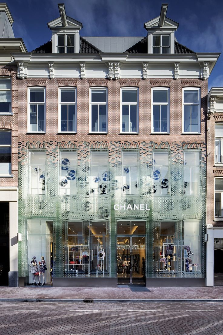 #Chanel, temporary boutique, Amsterdam, Netherlands